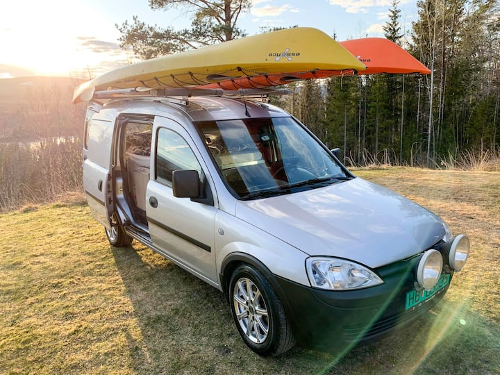 Unik campervan for fantastiske naturopplevelser