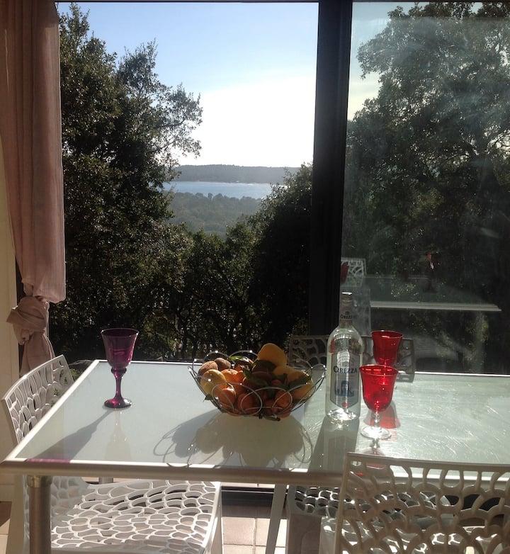 Pinarello, appartement à 500 m de la plage