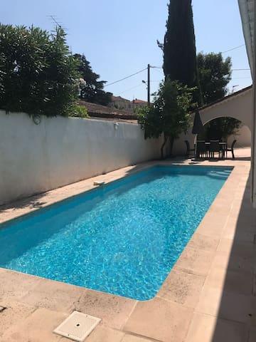 Villa with swimming pool