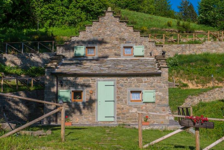 Casa Asfling 7 Celtica piano terra - Fiumalbo
