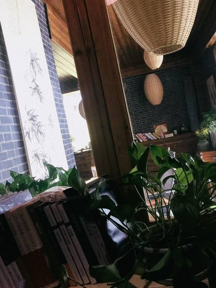 余姚东格里私人民宿,最适合朋友聚会的好去处,免费提供茶室,汗蒸室和棋牌室