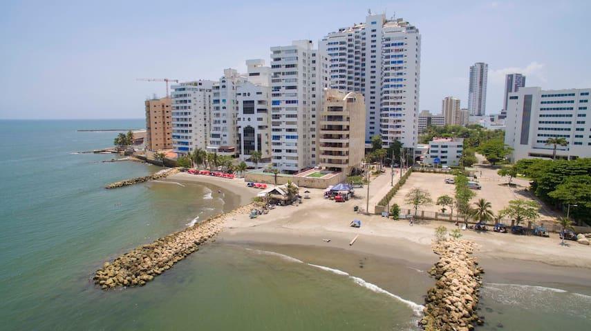 Laid Back Beach View - Cartagena - Lakás
