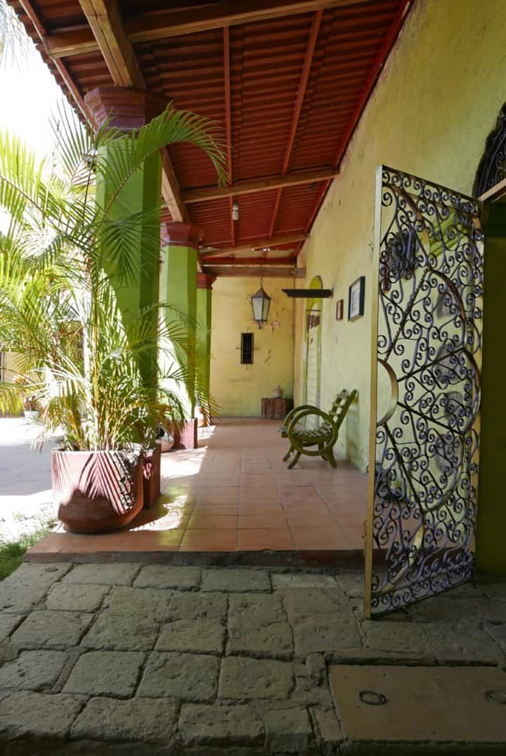Private room in historic Oaxaca House