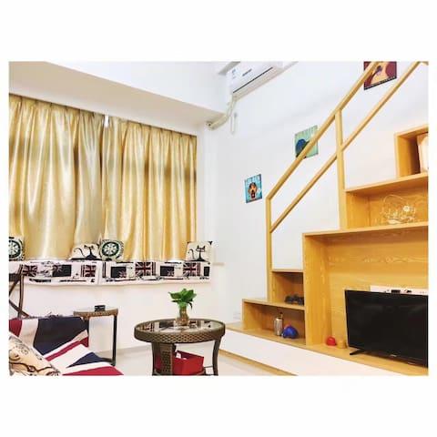 桐程A2复式公寓 近机场BRT火车站 - Xiamen - Apartmen