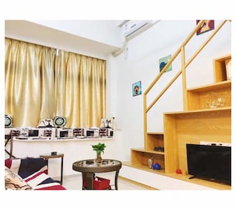 桐程A2复式公寓 近机场BRT火车站 - 厦门 - 公寓