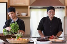 Avasara Residence at Panacea Retreat - Chef in action