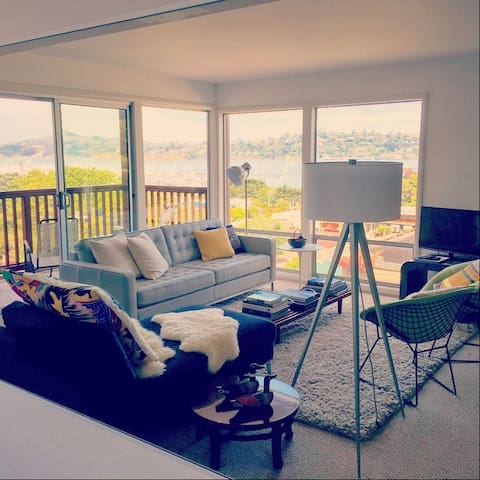 Beautiful Water Views In The Heart Of Sausalito - Sausalito - Apartamento
