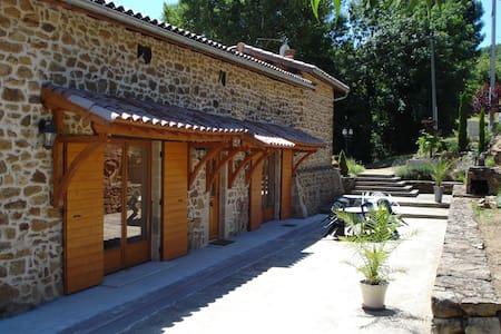 Gîte proche Lyon et des vignobles - Chuyer - Dom