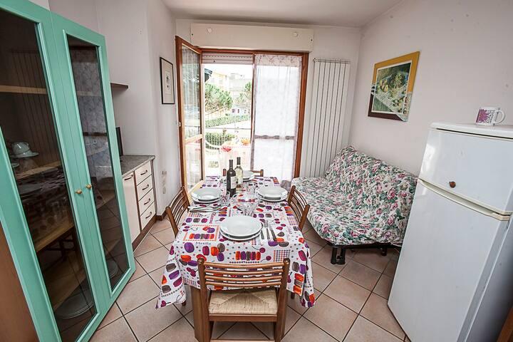 TRILOCALE AL MARE E AMPIO TERRAZZO! - Rosolina Mare - Apartment