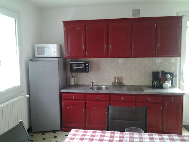 Appartement privé dans maison proche Bressuire - Bressuire - Wohnung