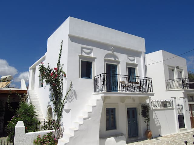 Traditional two-storey house - Naxos