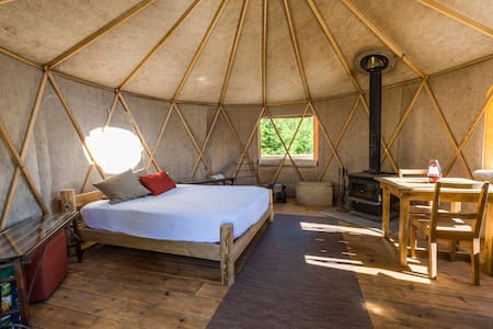 YURTA YURT at Terra Perma - Harrington - Yourte