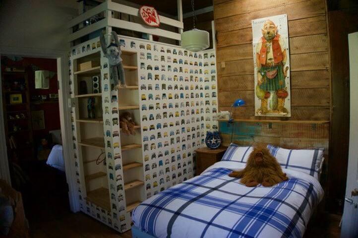 Bedroom 2 (double pure organic Latex)