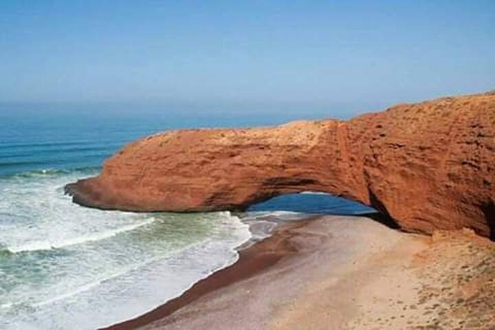 Lagzira plage( Kasbah)