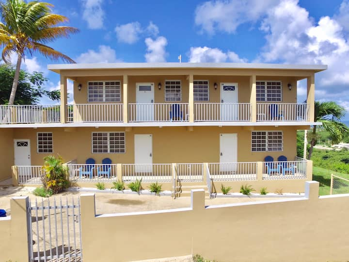 Beautiful cozy apartments with nice ocean view- 2A