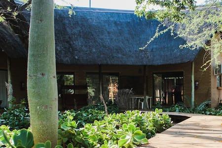 Zingela Nature Reserve - Leadwood Lodge  Chalet 2