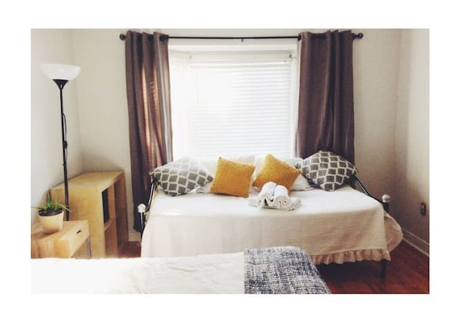 Clean and renovated beautiful bright room in house