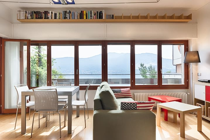 Lake Maggiore's Cozy Nest (w/ GREAT view) - Località Tre Ponti - Apartment