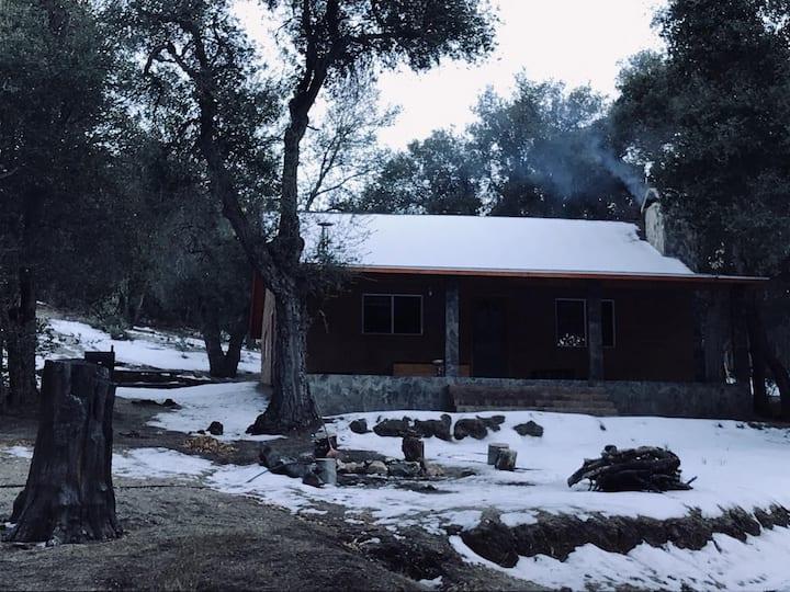 Cabaña Ciénega de Soto, Sierra San Pedro Mártir
