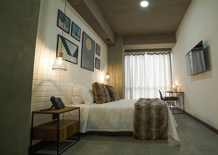 Habitación de lujo - Loft Laureles Medellín