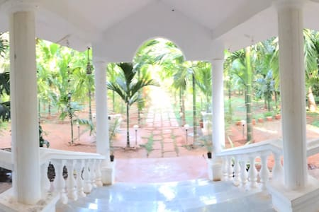 Cozy Two bedroom Farmhouse near Varuna Mysore