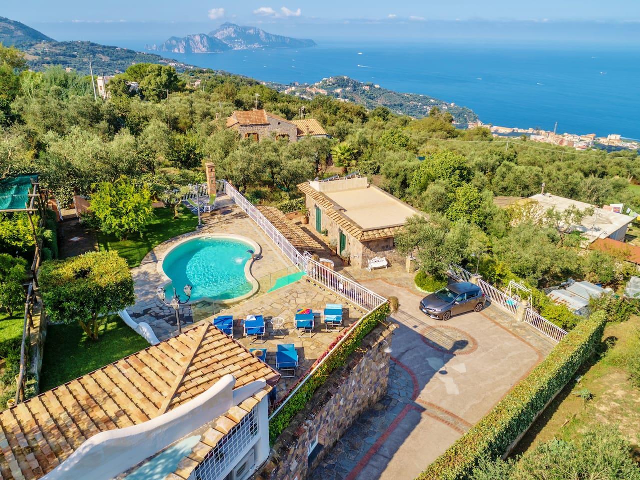 Capri sea view