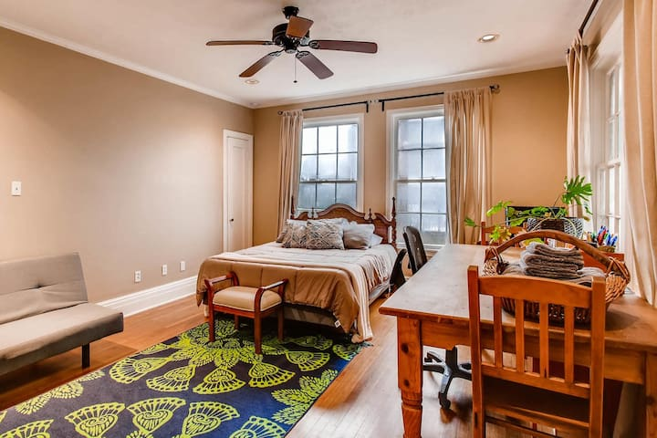 Priv Room in Estate Home - Deep Ellum/Dwntwn/Hosp.