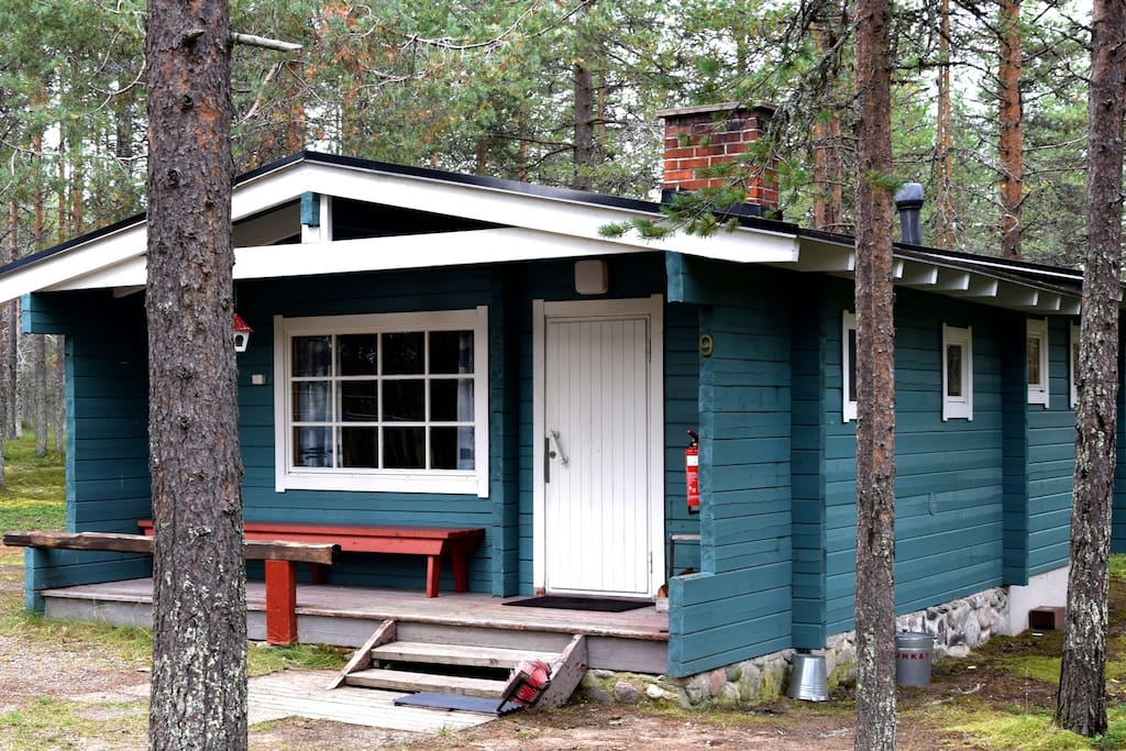 log cabin 40m2 by the lake free wi fi cabanes louer posio finland finlande. Black Bedroom Furniture Sets. Home Design Ideas