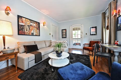Comfortable Stay In Eclectic Elizabeth--no Car Needed 1 Mile To Uptown