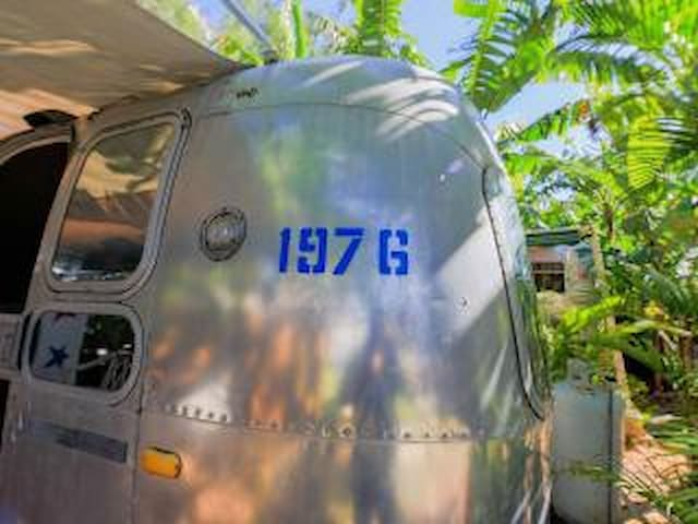 1976 Airstream near the Keys