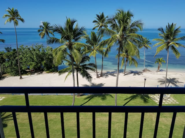 Golf y Playa 408 with Spectacular Beach Front View