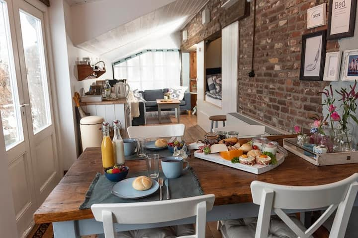 Landelijk gelegen Bed and Breakfast | Bed & Omelet