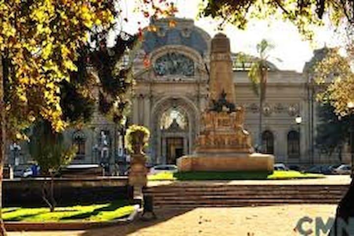 En Bellas Artes, cultura, gastronomía y patrimonio - Santiago - Apartamento