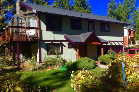 Zephyr Cove house in the hills with a lake view!!! - Glenbrook - Haus
