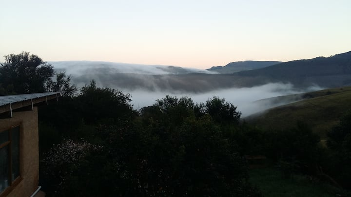Misty Mountain Meander - eco friendly cottage