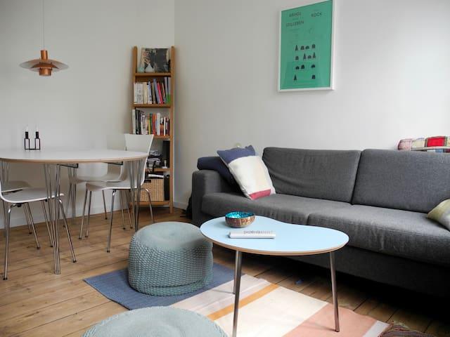 Cozy apartment in the heart of Copenhagen - København - Lejlighed