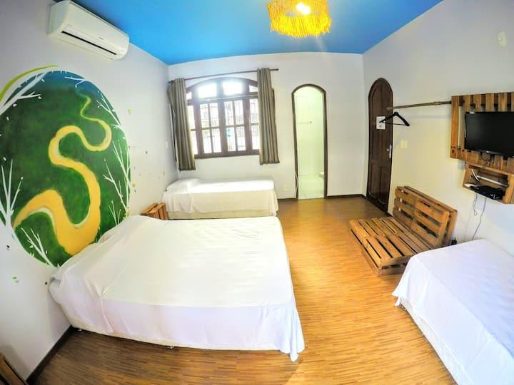 A melhor Localização de Manaus -Suite premium c tv
