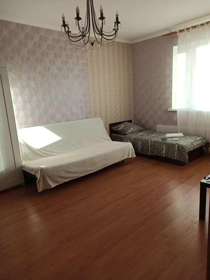 Сдам 1к квартиру в центре с новым ремонтом