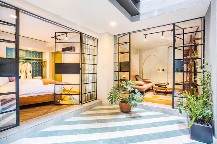 New whimsical condesa apartment