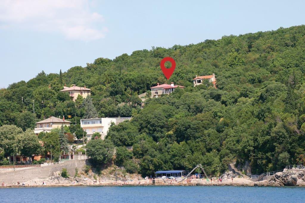 """Apartment """"Stari porat"""" view from sea"""