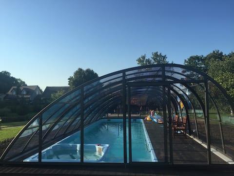15GDANSK Campo de golf propio para niños de villas de lujo