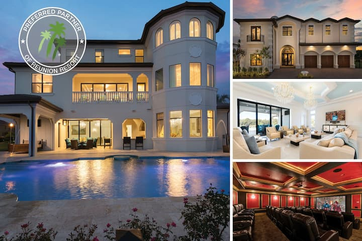 The Palace | 11,700 sq. ft., 13 Bed Ultimate Luxury Villa with Custom Pool