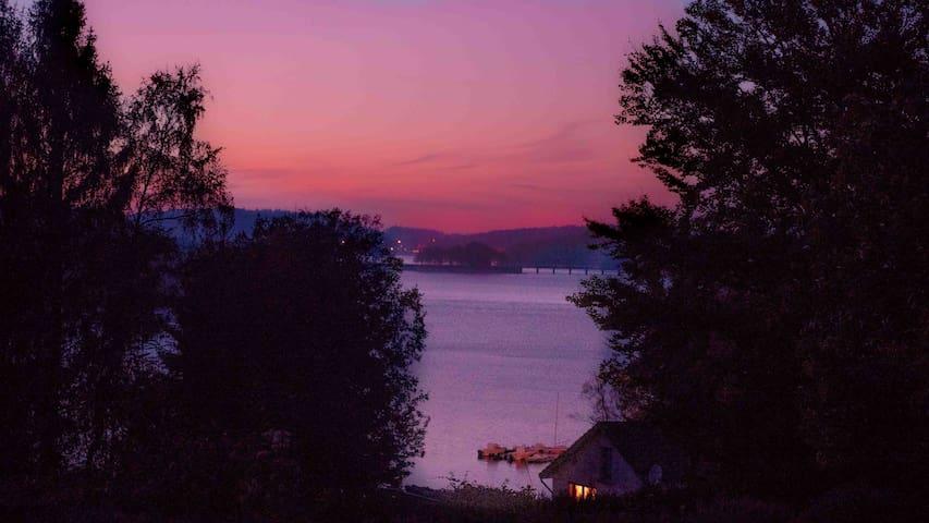 ty lac, chalet avec vue sur le lac de Vassivières - Beaumont-du-Lac - Natur lodge