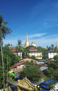 Flat close  to Shwe Dagon Pagoda (Business Visa ) - Yangon