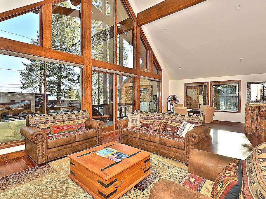 Great Room windows flood the space with natural light.