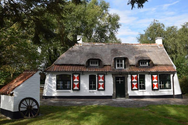 La petite chaumière - Frasnes-lez-Anvaing - Haus