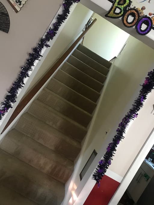 Stairs to 2nd Floor from the Main house floor