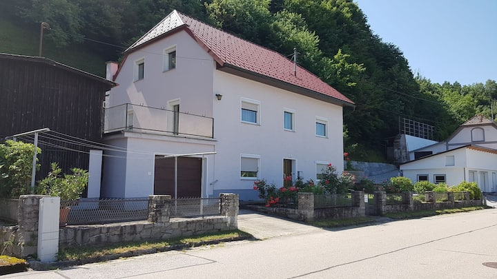 30m² apartment with kitchen, bathroom near Linz