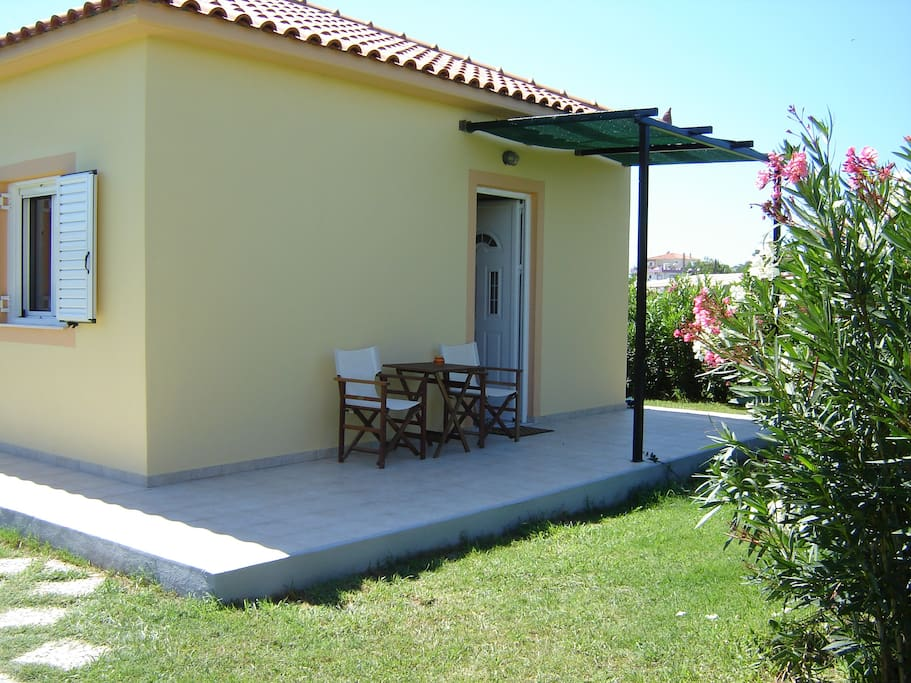 Your private entrance and terrace