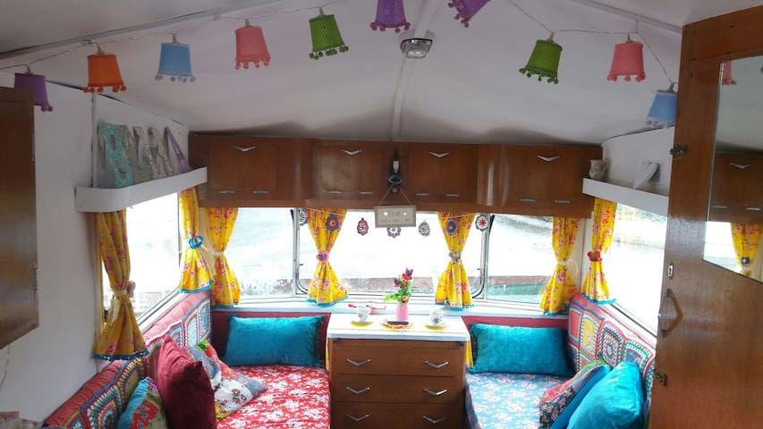 Glamping Donegal, Vintage Caravans - County Donegal